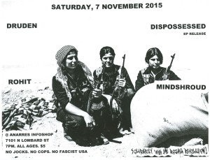 dispossessed flyer